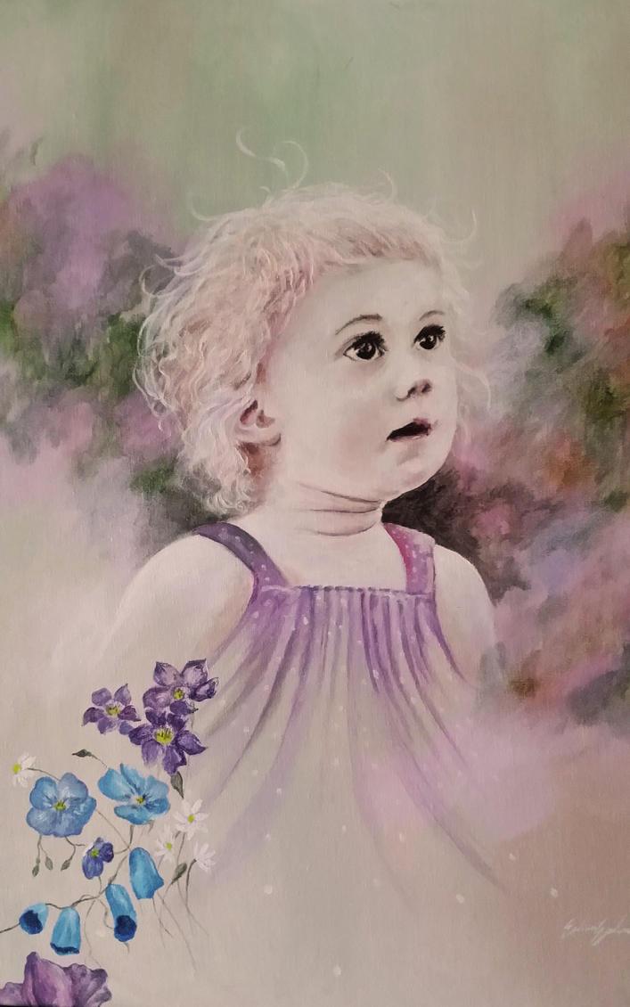 Little girl by Siamone