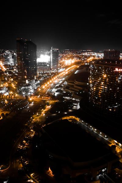 San Diego by Night by Roamerick
