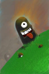 iPhone Art: Cyclops Idols by Roamerick