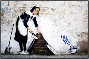 Banksy by Roamerick