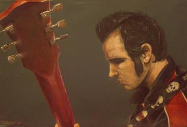 Aaron Barrett plays rad guitar by nikkithebee