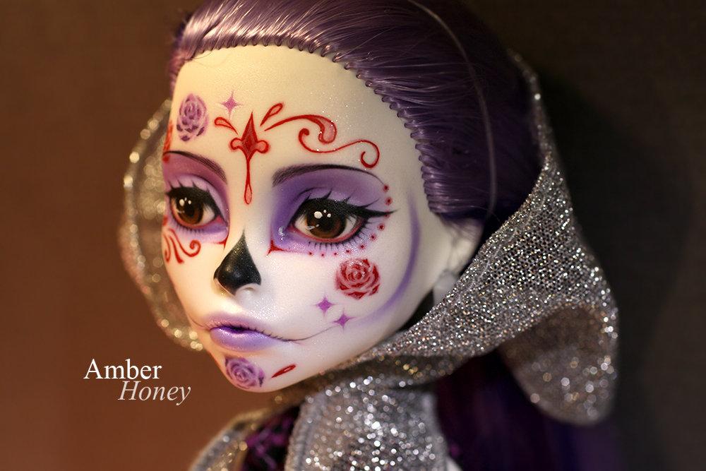 Sugar Skull Spectra by Amber-Honey