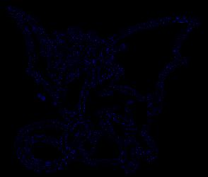 [FTU] Little Dragon Lineart by PandoraTheDragon