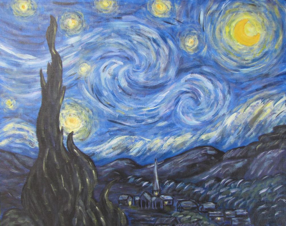 Starry Night Interpretation by PumpkinJack6