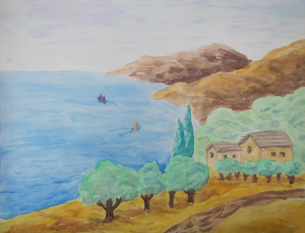 Italian Coast by PumpkinJack6