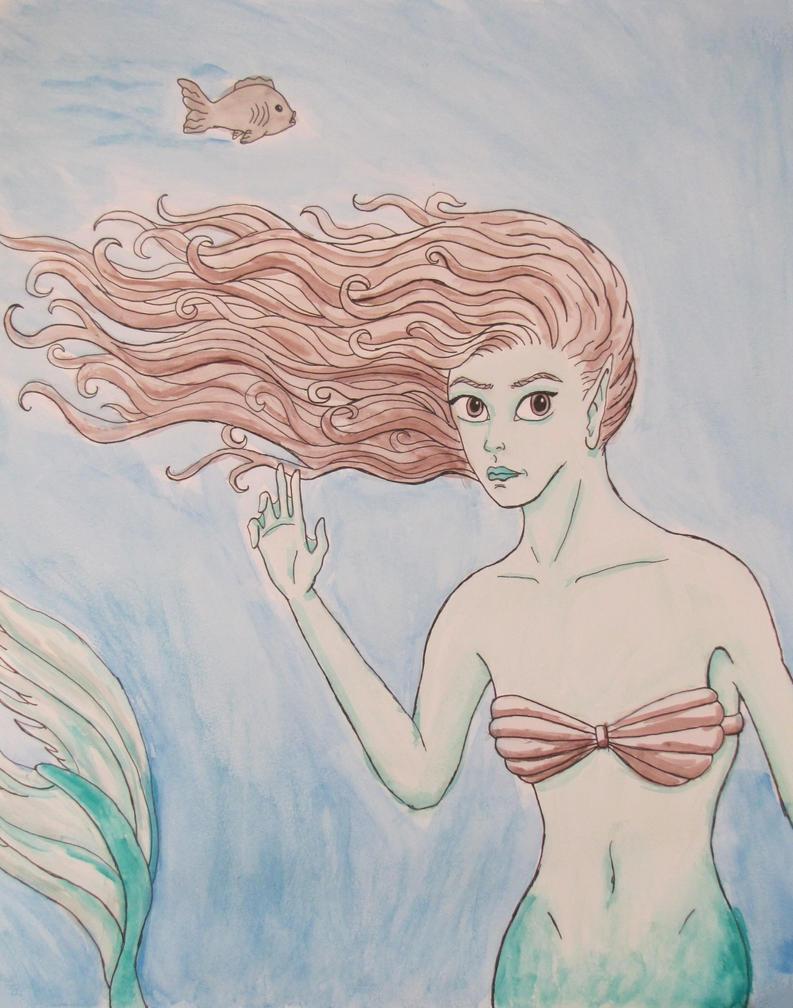 Mermaid Encounter by PumpkinJack6