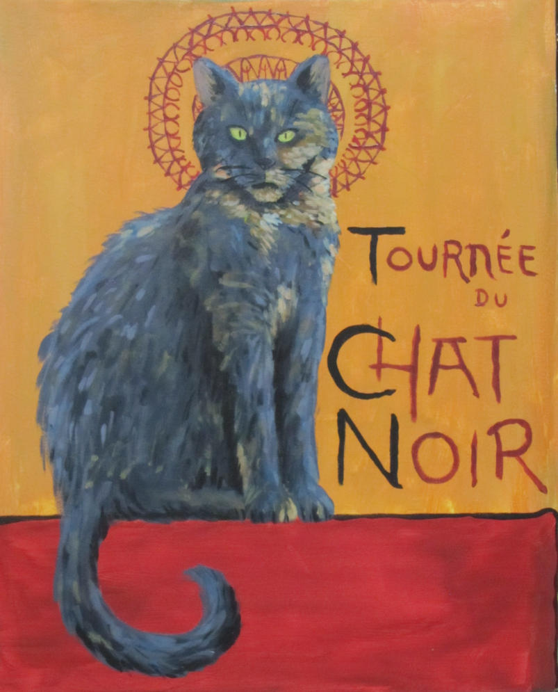 Le Chat Noir by PumpkinJack6