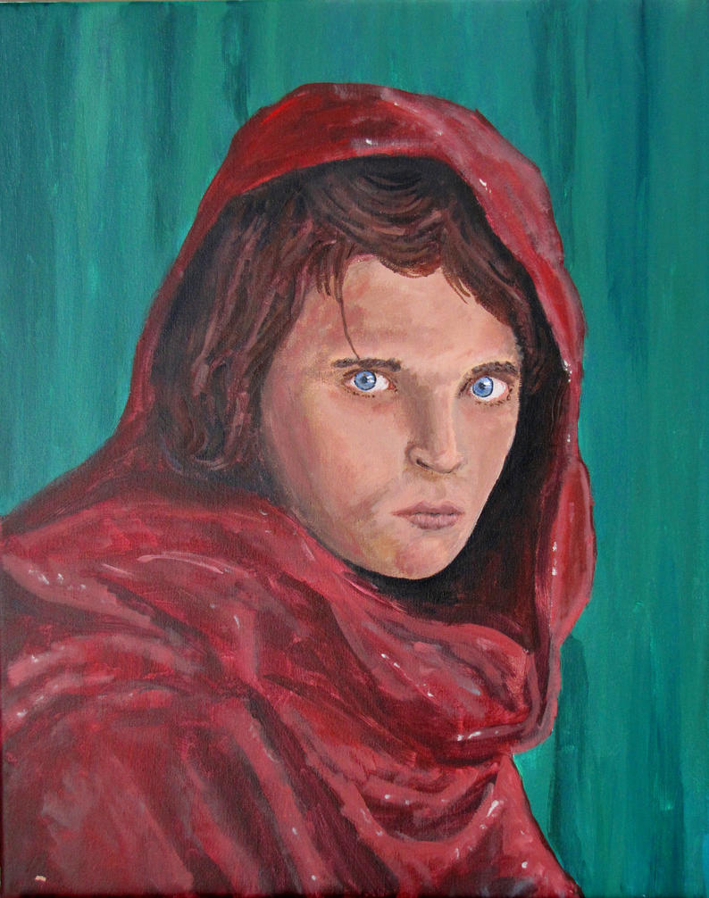 Afghan Girl by PumpkinJack6