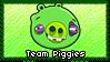 Team Piggies Stamp 1 by ihearttoronto