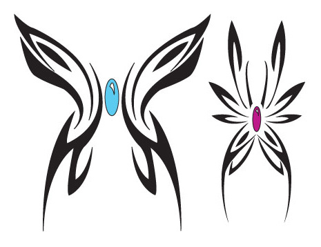 Butterfly Tattoo's