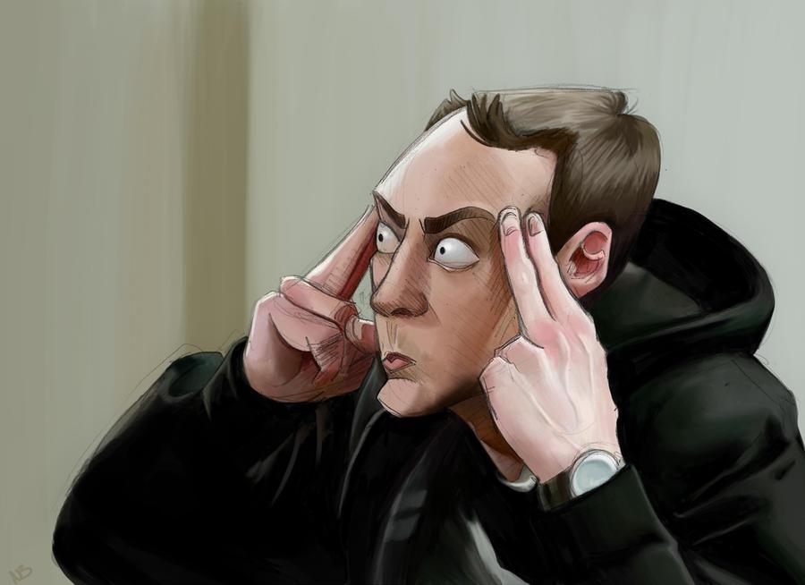 Sheldon Cooper by obeythekiwi