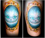 cat alice tattoo