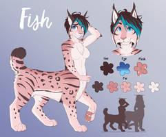Fish Lynx ref by catnamedfish