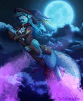 Witchy Vixxy by catnamedfish