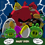 Happy Easter of Angry Birds
