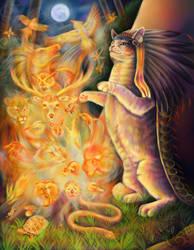 Totem Spirits by Kasaurus