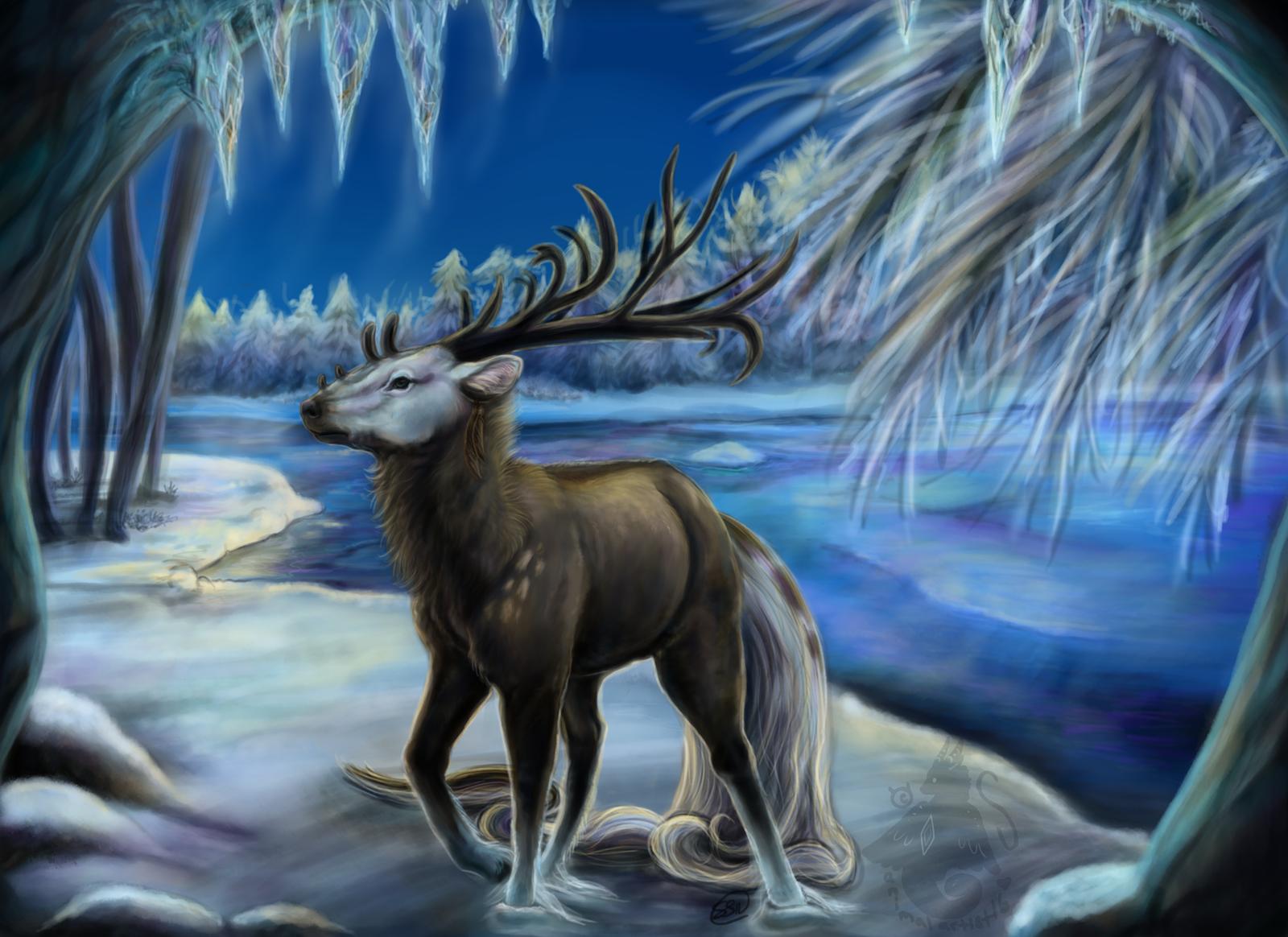 Winter Wonderland by animalartist16