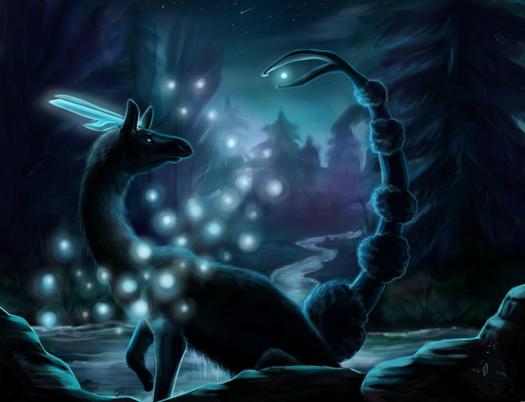 Night Glow by animalartist16