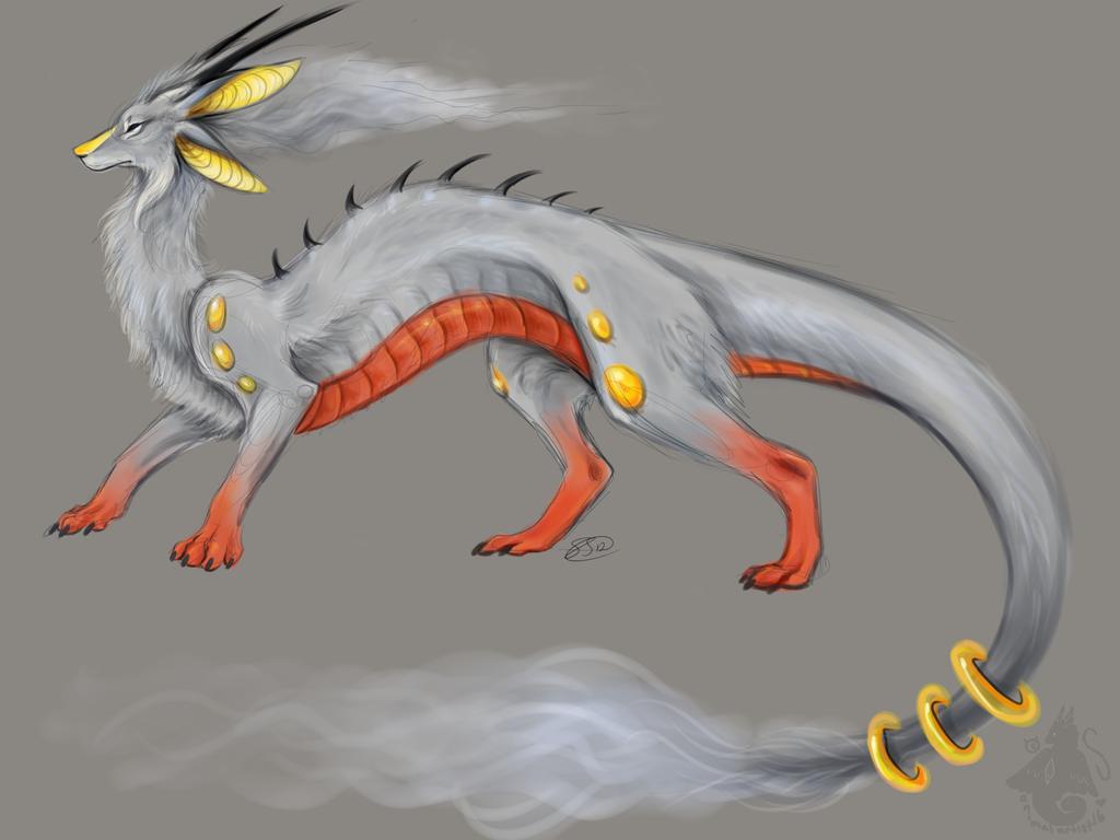Dragon Adoptable by animalartist16