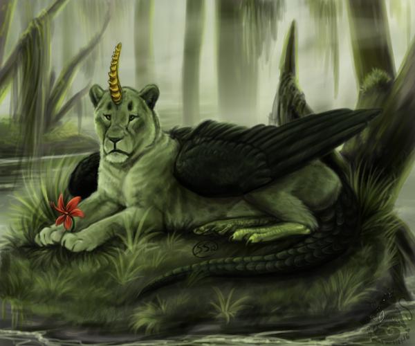 Swamp Flower by animalartist16