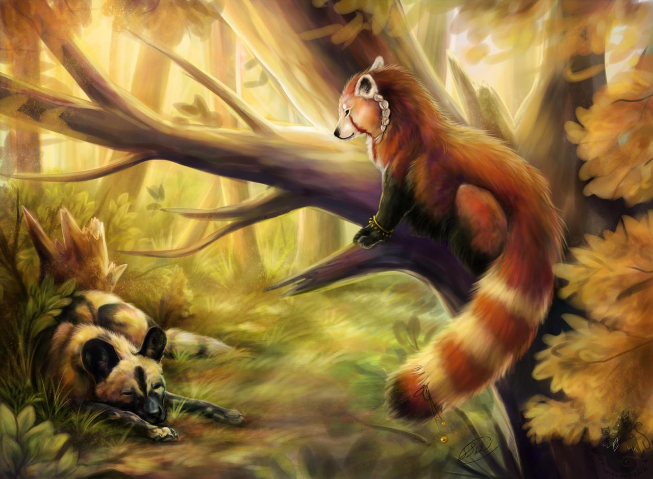 Beautiful Memories by animalartist16