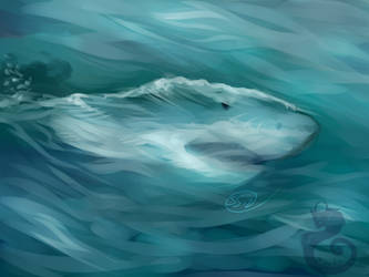 Water Tension by Kasaurus