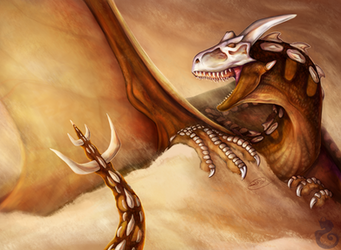 Sandstorm by Kasaurus