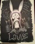 Black Metal Lovise Belcher