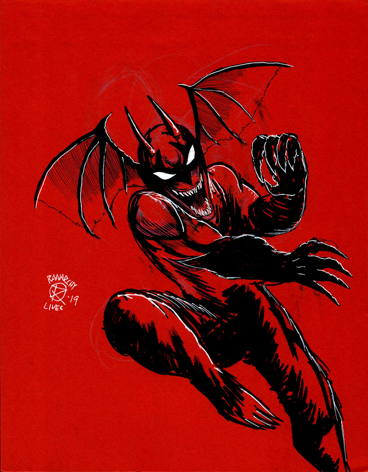 Inktober: Devilman