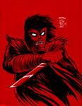 Inktober: Violence Jack