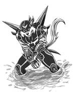 SWAT Kats Revolution - Razor by betaruga