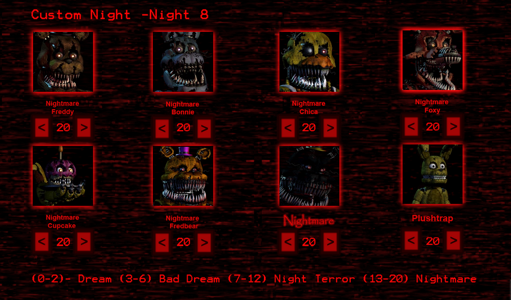 Five Nights At Deviantart Custom Night By – Desenhos Para Colorir