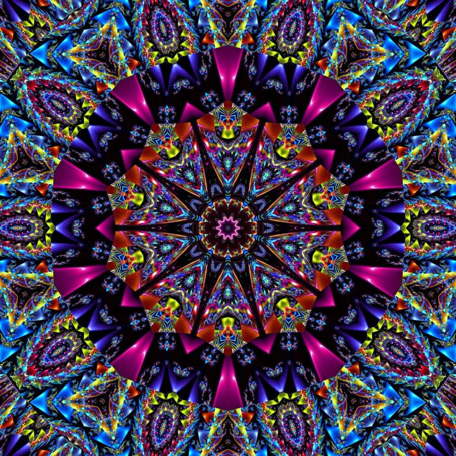 Color Me Vivid Kaleidoscope by TastesLikePurple