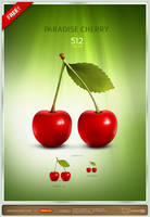 Paradise Cherry Icon by artbees