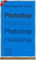 Photoshop Text Styles
