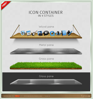 Icon Container Pack