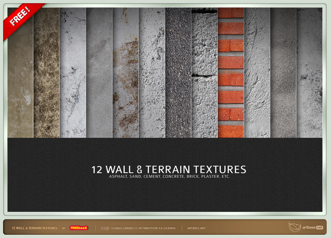 Wall and Terrain Textures by artbees