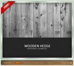 Wooden Hedge - Seamless