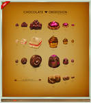 Chocolate Obsession Icon Set