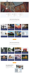 Free Real Estate Webpage Template by artbees