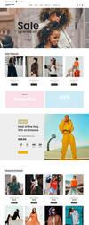 Free Fashion Shop Webpage Template by artbees