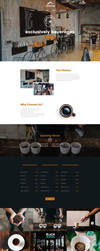 Free Coffee Template Webpage by artbees