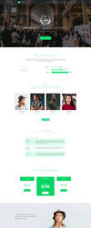 Free Event PSD Website Template by artbees