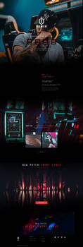 Free Gamer Website Template by artbees