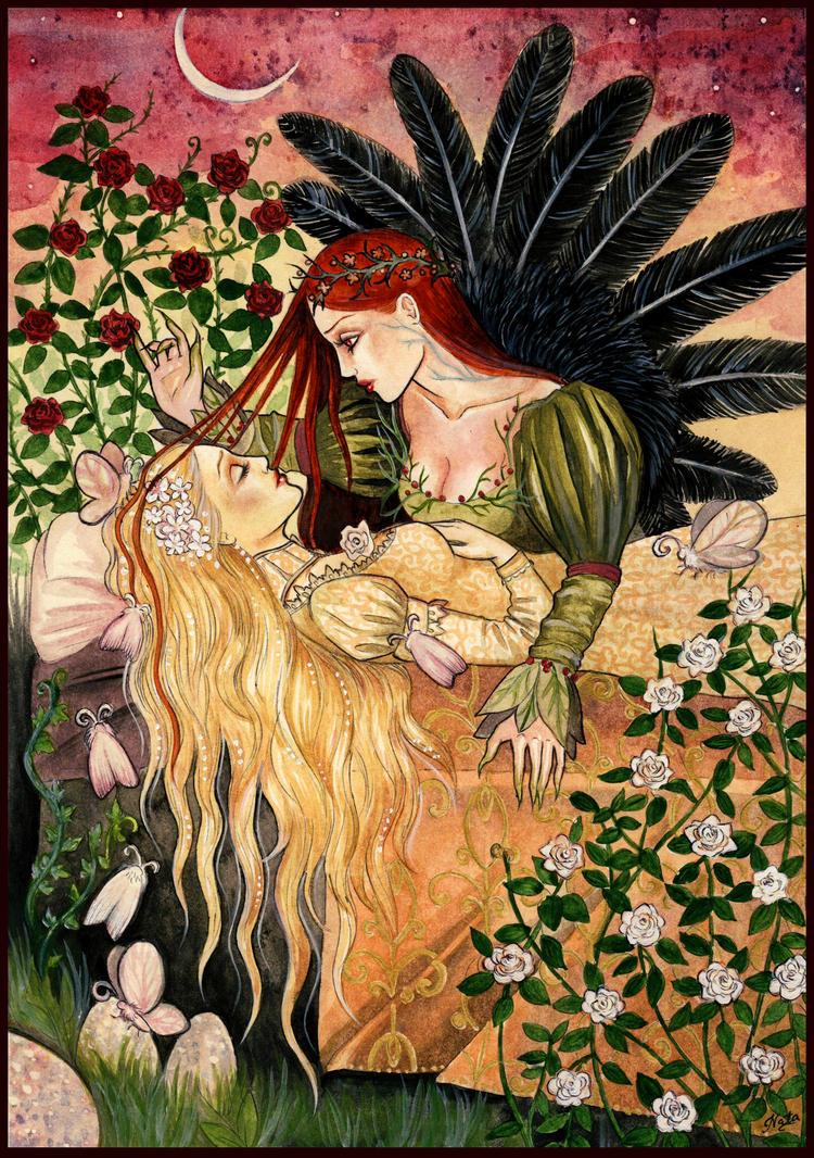 The Sleeping Beauty by UnripeHamadryad