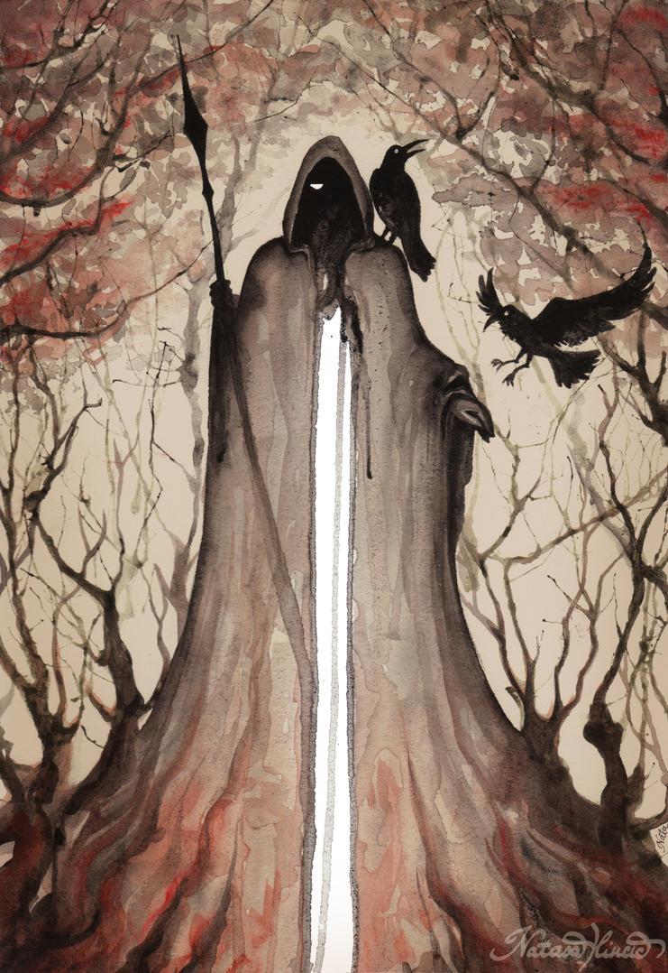 Odin by UnripeHamadryad