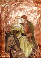 Tristan and Isolde by NatasaIlincic