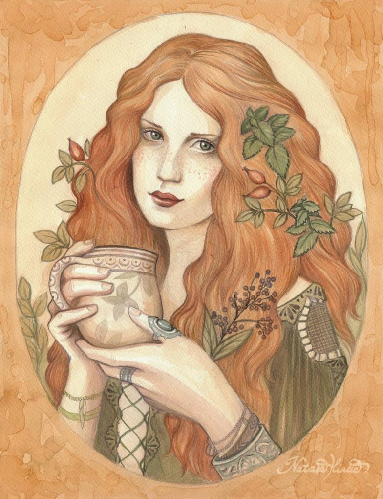 Herbal Tea by NatasaIlincic