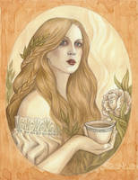 White Tea by NatasaIlincic
