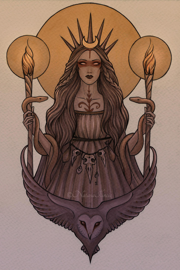 Hecate by UnripeHamadryad